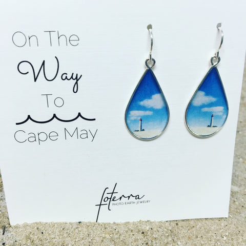 CAPE MAY LIGHTHOUSE - EARRING
