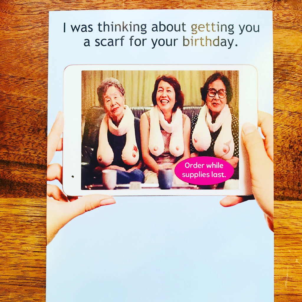 Funny Birthday Card