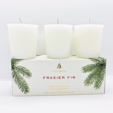 Frasier Fir Votive Candles Set