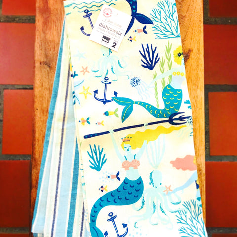 Mermaid Tea Towels