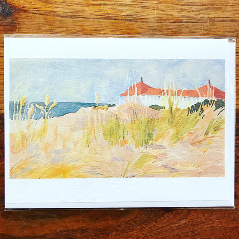 St. Mary's By the Sea Greeting Card