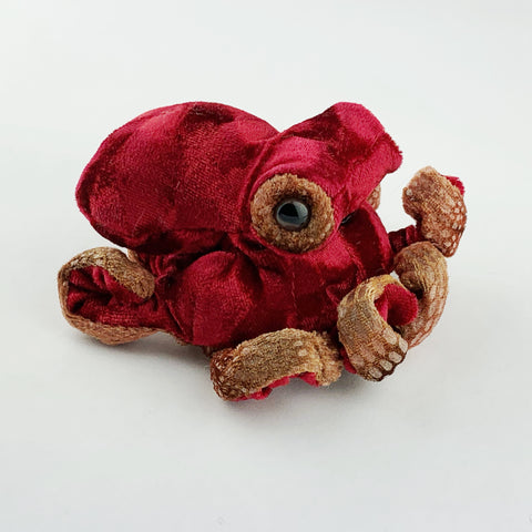 Mini Red Octopus