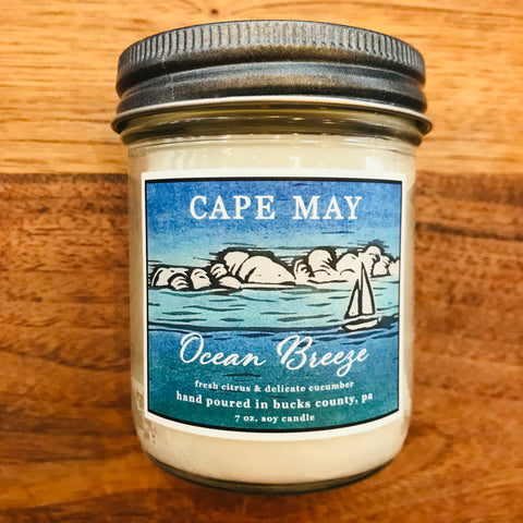 Ocean Breeze Candle 7oz