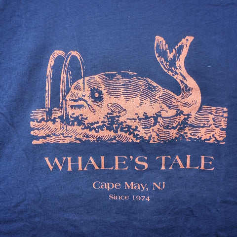 WHALE'S TALE 45TH ADULT LARGE T-SHIRT