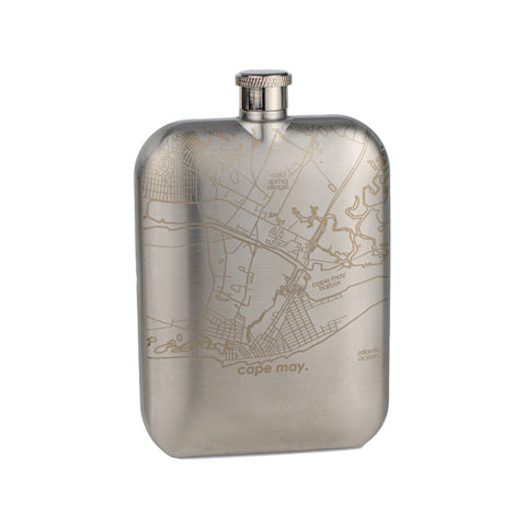 Cape May Pocket Flask
