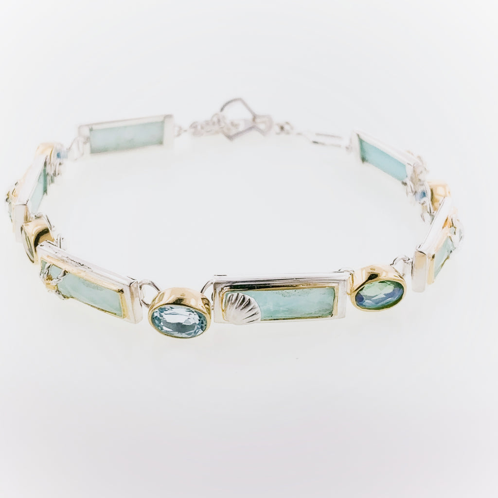 Michou- One of a kind- Rectangle Bracelet