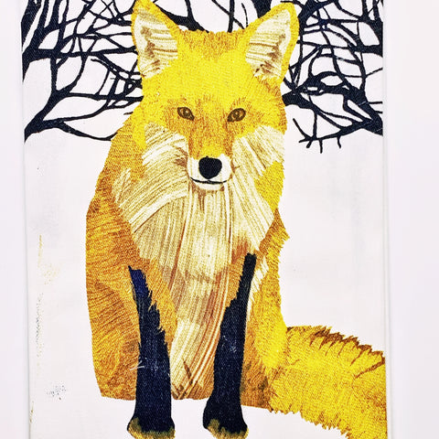 Fox Kitchen Towel