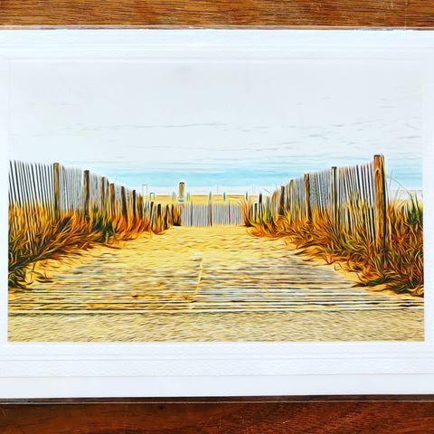 Cape May Beach Entrance Card