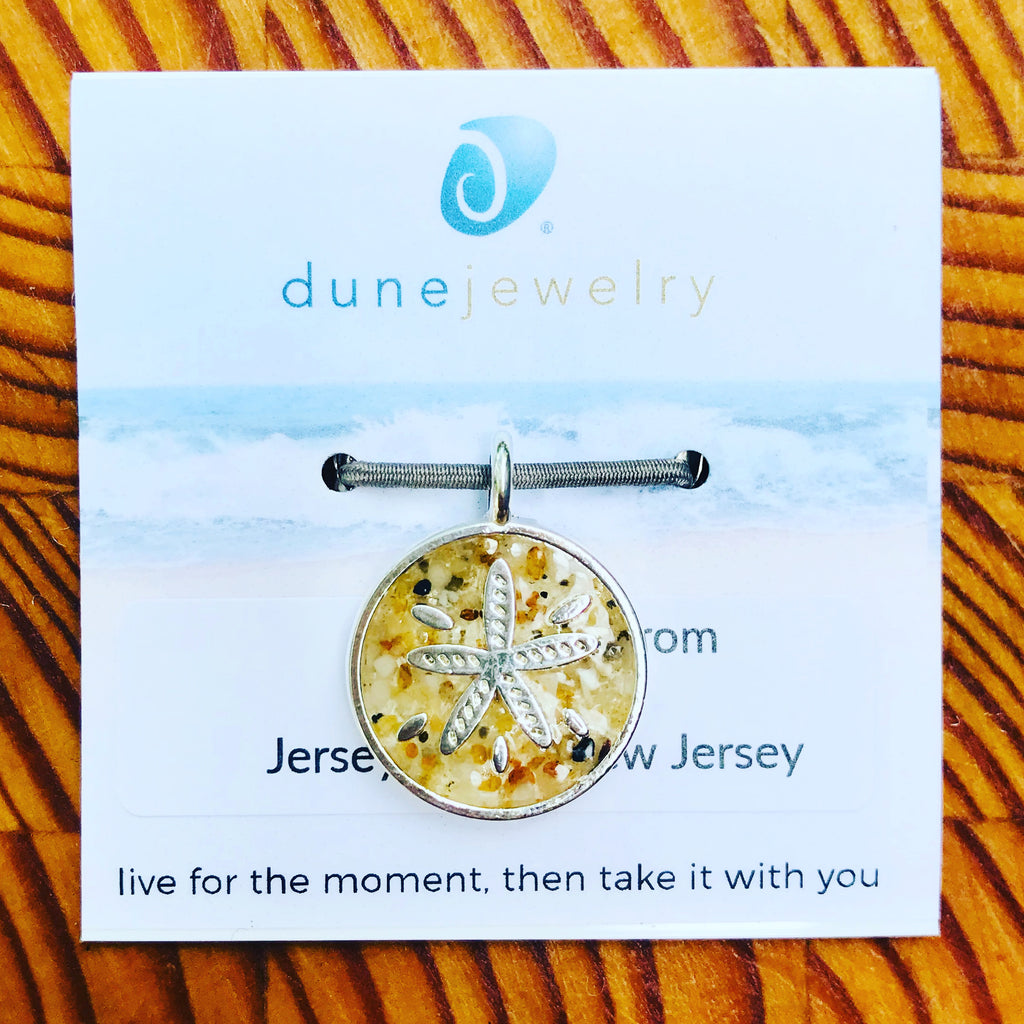 Cape May Sand Sanddollar Charm