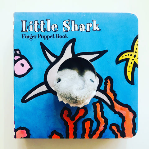 LITTLE SHARK FINGER PUPPET BOO