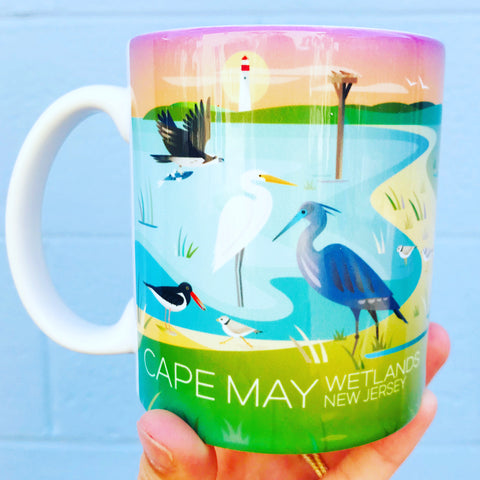 Cape May Shorebirds Mug