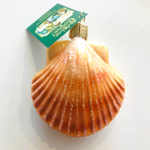 Scallop Shell Ornament