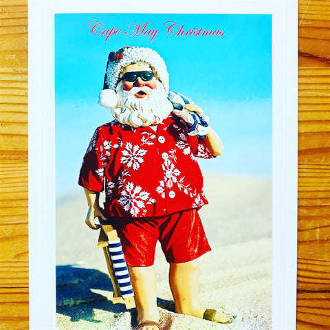 Cape May Santa Card