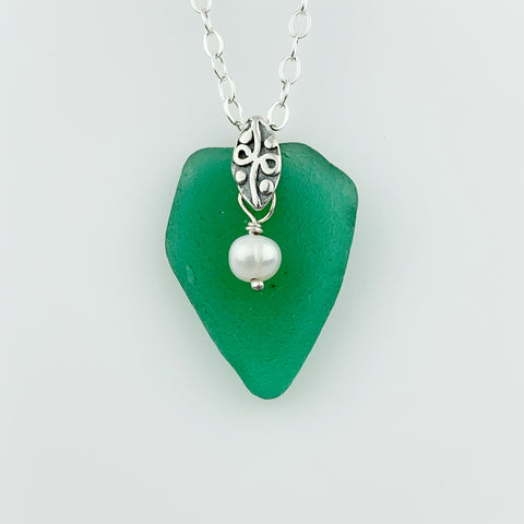 Janet Payne Seaglass Necklace