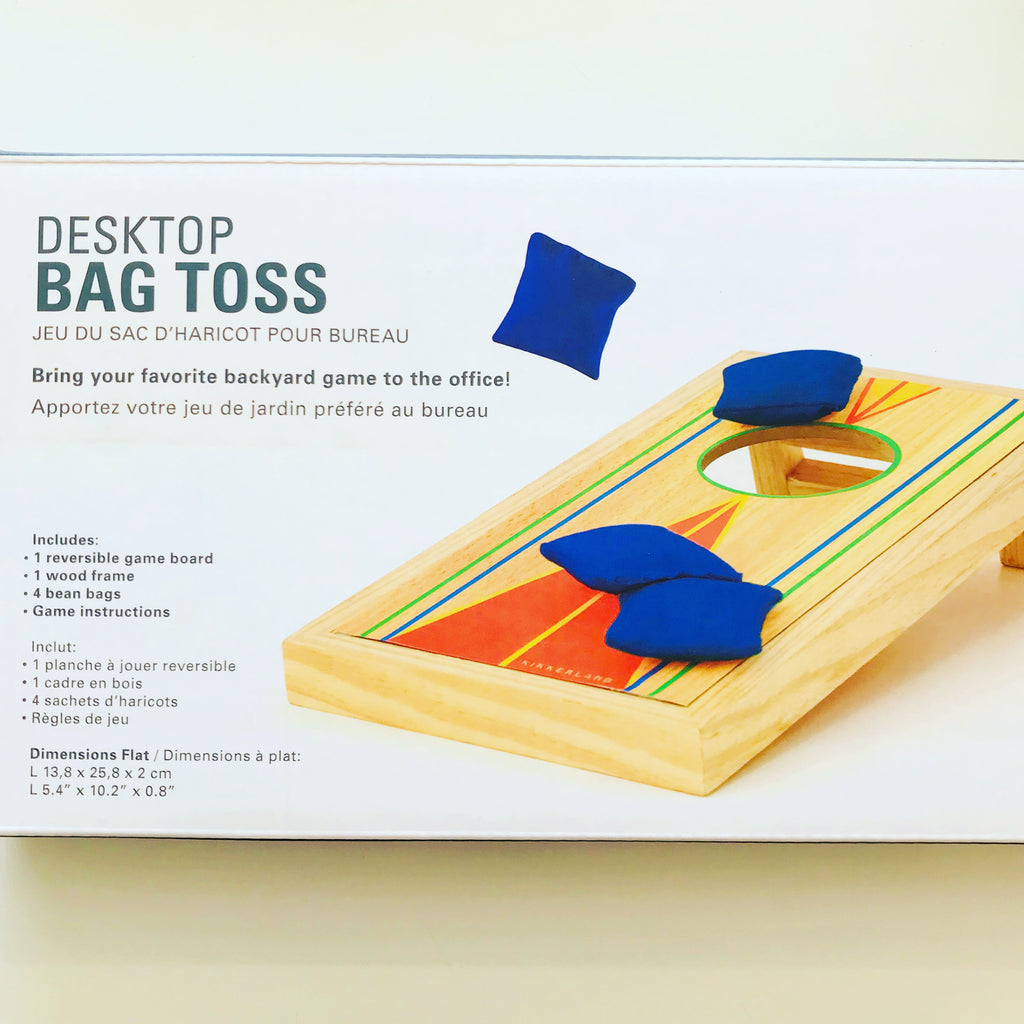 DESKTOP CORNHOLE BEAN BAG GAME