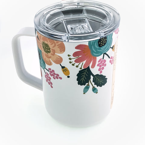 Lively Floral Rifle Paper Co. Coffee Mug