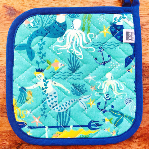 Mermaid Potholder
