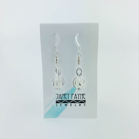 Janet Payne Cape May Diamond Earrings