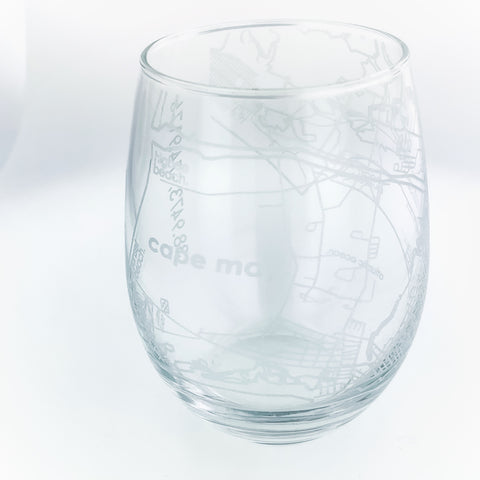 CAPE MAY STEMLESS WINE GLASS