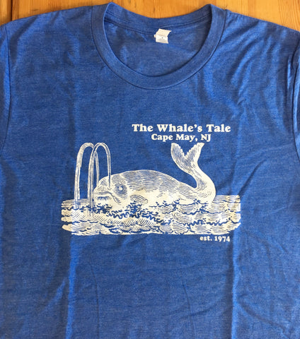 WHALE'S TALE ADULT SMALL T-SHIRT