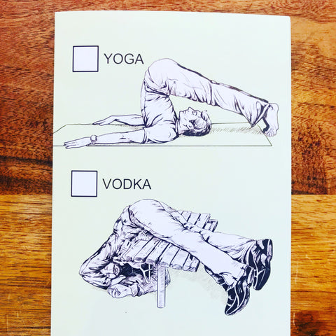 YOGA OR VODKA BDAY
