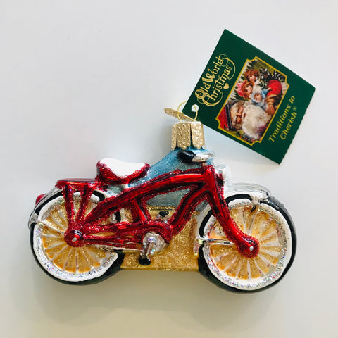 Beach Cruiser Ornament