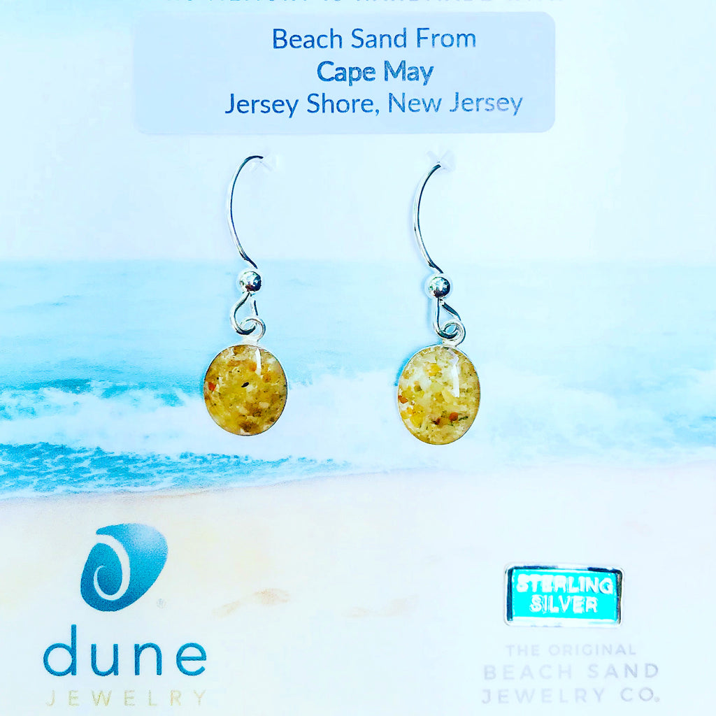 Cape May Sand Drop Earrings