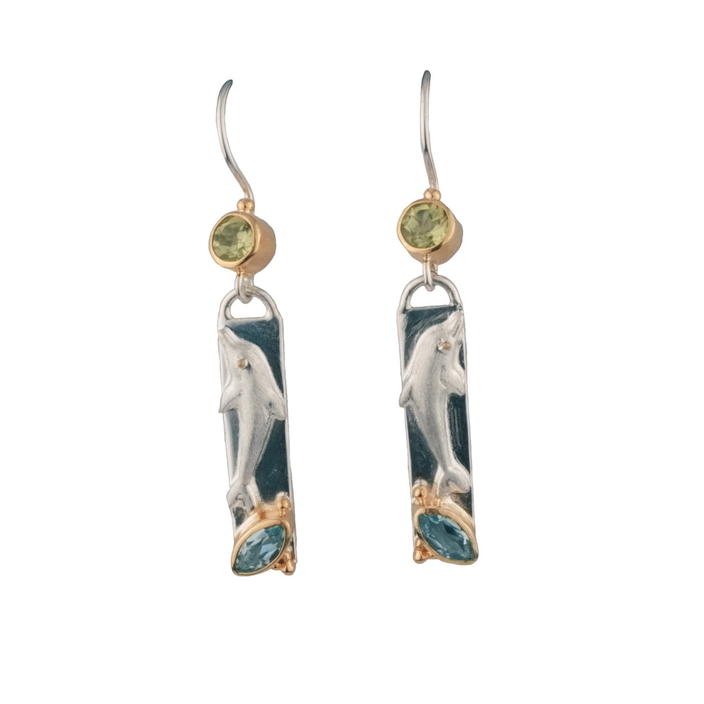 Dolphin Bar Earrings