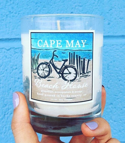 Cape May Beach House Soy Candle 10oz.