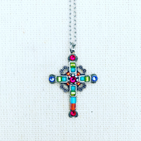Firefly Ornate Mosaic Cross