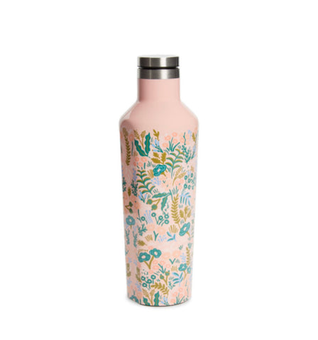 Rifle Paper Co. x Corkcicle Pink Canteen