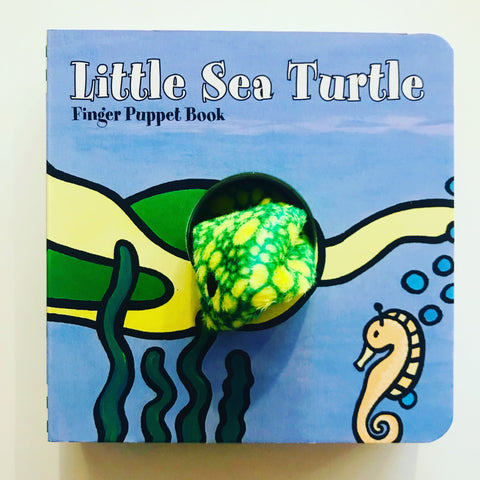 LITTLE SEA TURTLE FINGER PUPPET