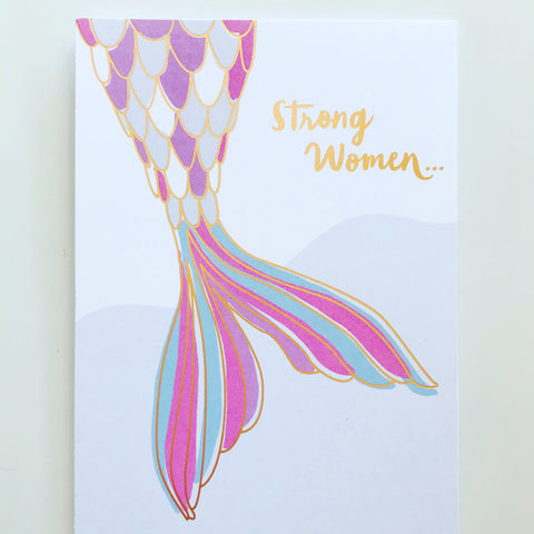 STRONG WOMEN MERMAID