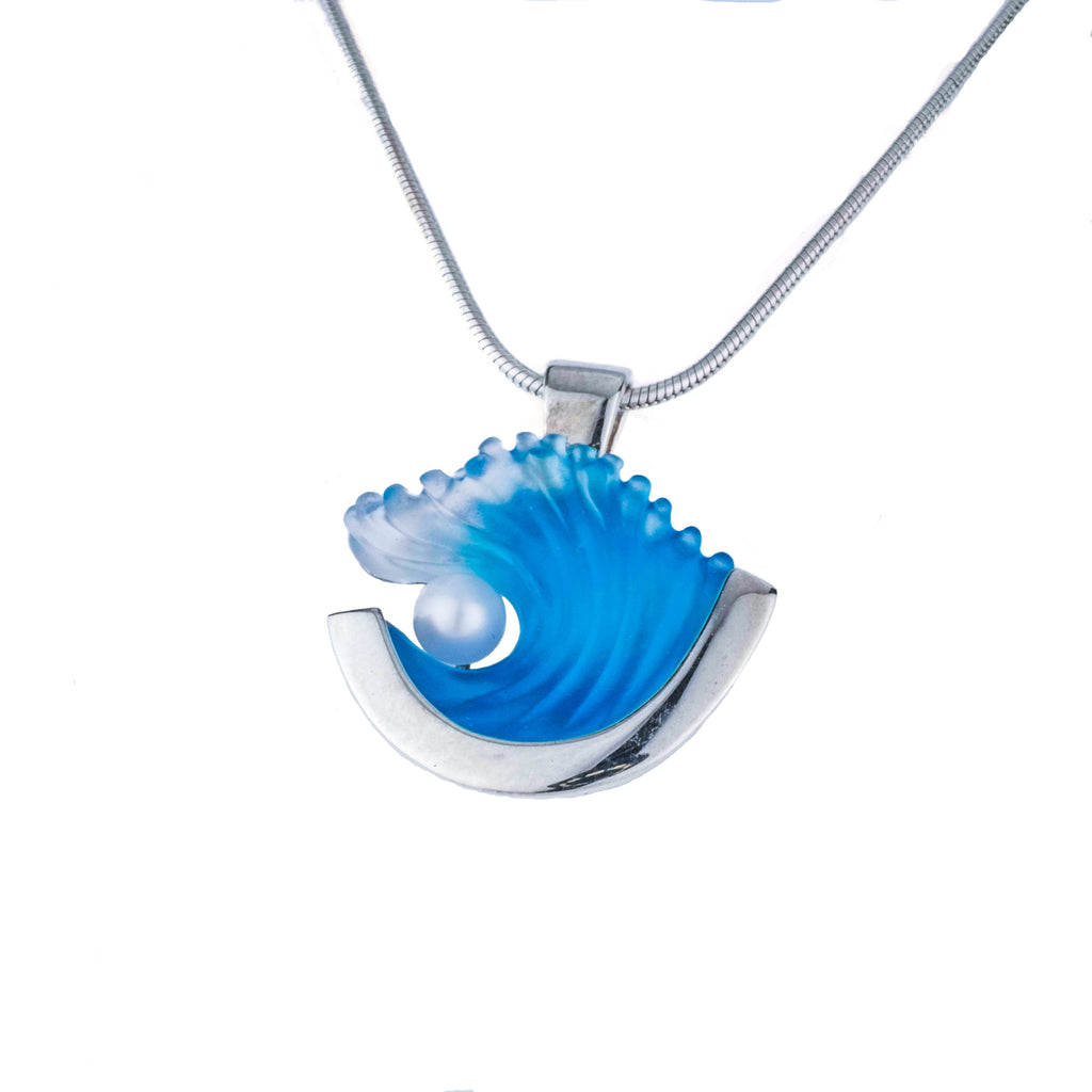 Pearl Wave Pendant