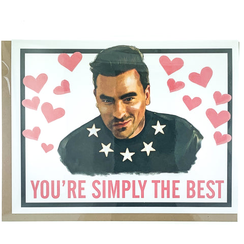 Schitt's Creek Valentine Day Card