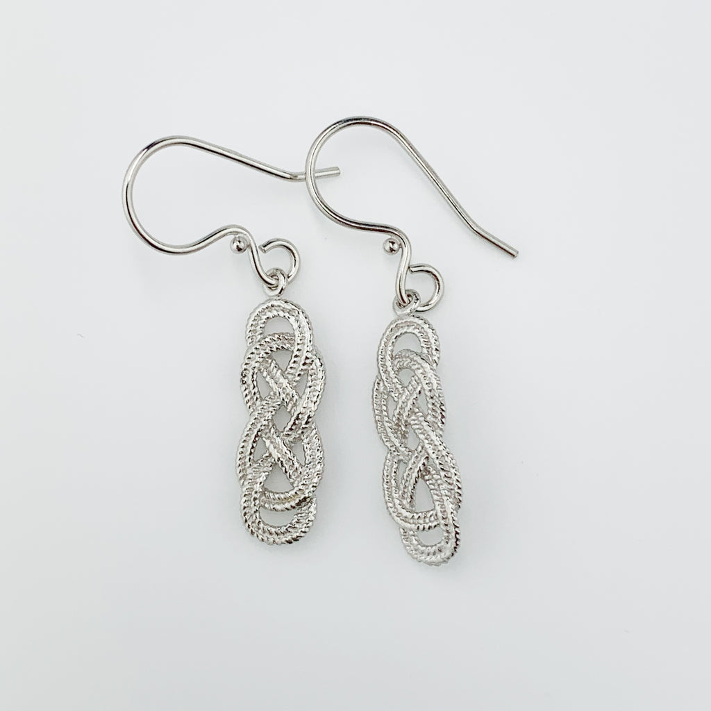 Nautical Knot Drop Earrings