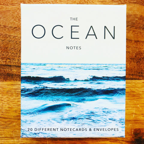 THE OCEAN BOXED NOTES