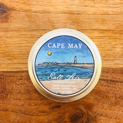 Salt Air 4oz Travel Candle