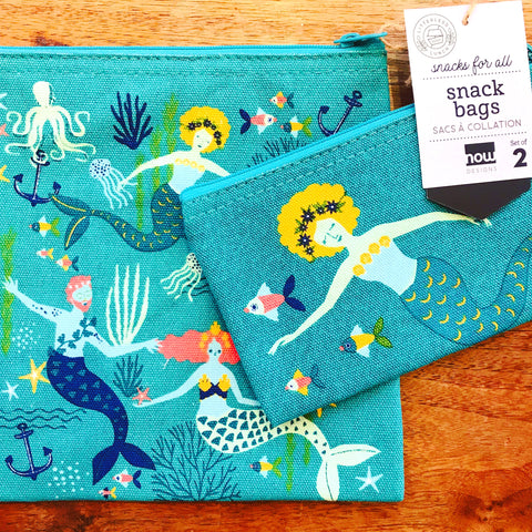 Mermaid Snack Bags