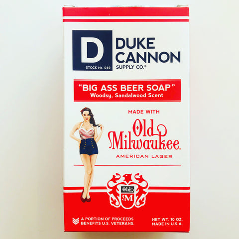 Old Milwaukee Beer Soap