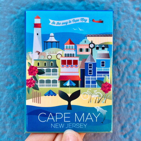 CUSTOM CAPE MAY MAGNET