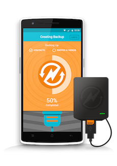 Never lose your smartphone data again with Charge-N-Sync