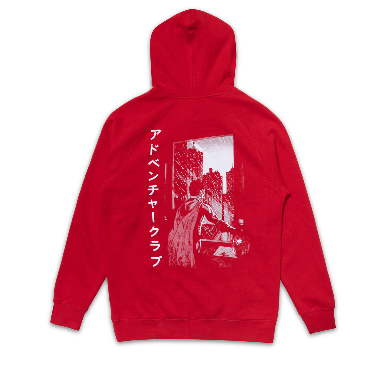 Red Character Hoodie