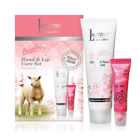 Scenic Hand & Nail Cream Plus Lip Balm Set