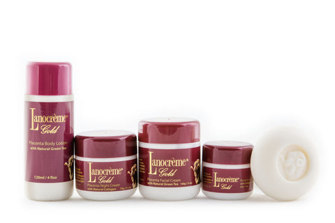 Placenta Gold Gift Set - 5in1