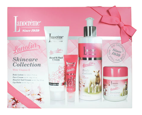 Lanolin Skincare Collection - 4 piece set