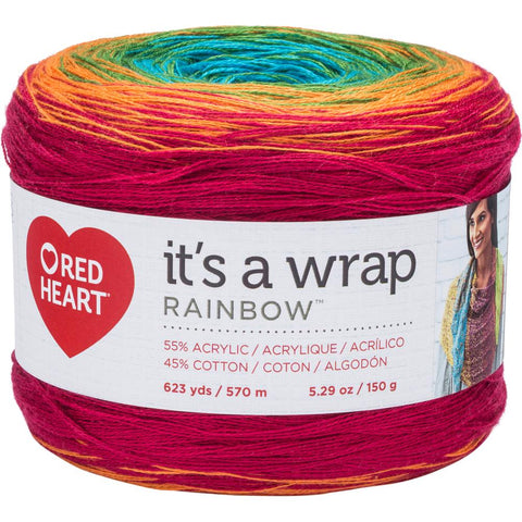 Red Heart It's A Wrap Rainbow - Unraveled Yarn Shop