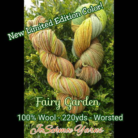 JoSchmoe Wool - Fairy Garden - Unraveled Yarn Shop