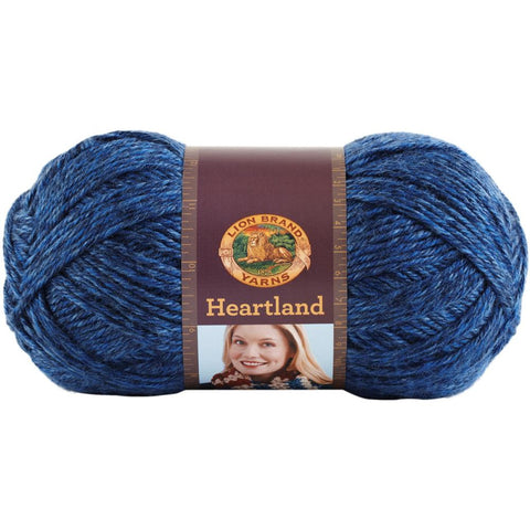 Lion Brand Heartland 3 skein bags - Unraveled Yarn Shop