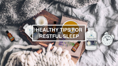 Healthy Tips for Restful Sleep